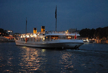 New Year's Eve Dinner cruise and all night gala on large deluxe yacht