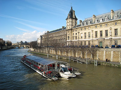City tour plus lunch on riverboat or in the Eiffel Tower (8 hours)