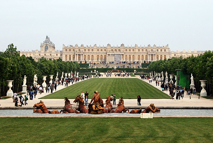 Paris international private guides for a full day visit - Restaurant chateau de versailles ...