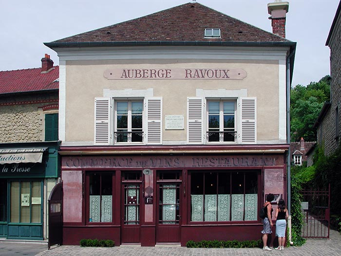 Paris international auvers sur oise and giverny for Auberge ravoux maison van gogh