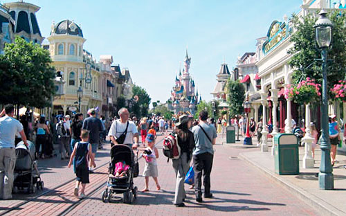 Main Street at Disneyland Paris