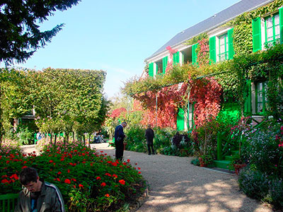 Discover Claude Monet's house and Gardens in the village of Giverny, where he created some of his most famous paintings, including the water lily series.
