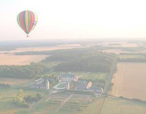A hot-air balloon ride over Château Maintenon - or a helicopter ride over the Château de Versailles