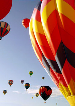 Exhilarating Hot Air Balloon Rides