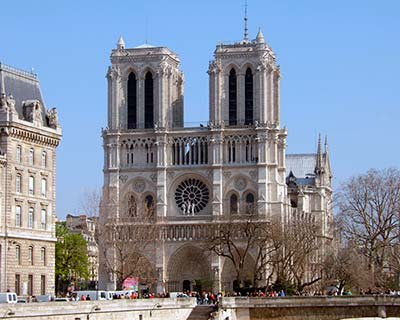 Paris City Tour and River Lunch Cruise - Notre Dame