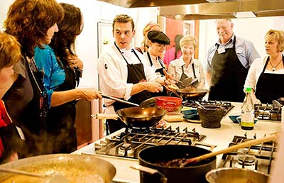 Like French cuisine? Treat yourself to a French cooking class with renowned Parisian chefs.